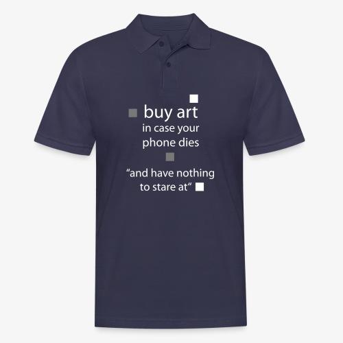 buy Art - Männer Poloshirt
