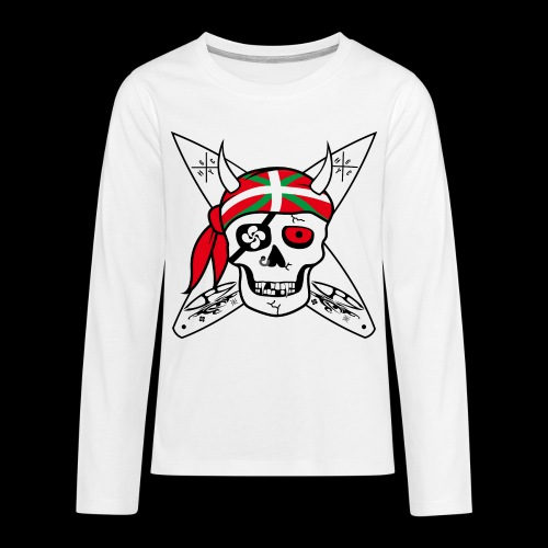 TEE-SHIRT ADO PRIVATEER - T-shirt manches longues Premium Ado