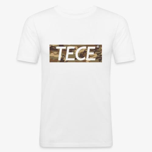 Tece Camouflage T-Shirt - Männer Slim Fit T-Shirt