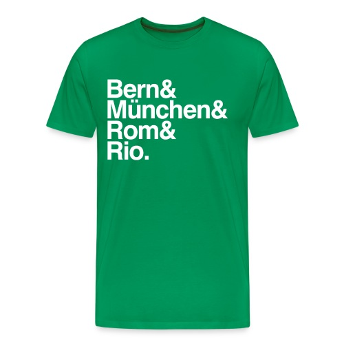 Weltmeister minimalist - Männer Premium T-Shirt
