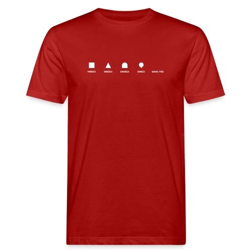 Geometrie für Anfänger | Bio - Männer Bio-T-Shirt