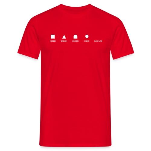 Geometrie für Anfänger | preiswert - Männer T-Shirt