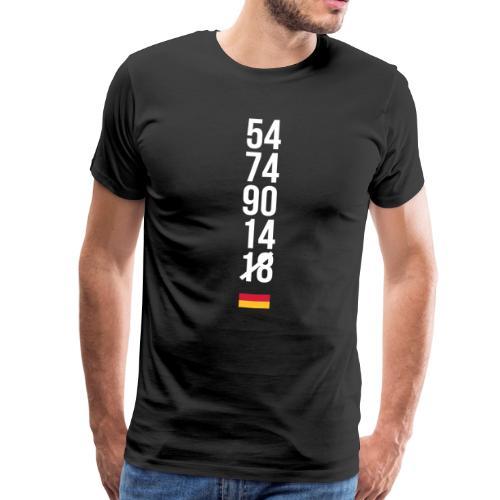 Tyskland ingen world champion 2018 svart rött guld T-shirts - Männer Premium T-Shirt