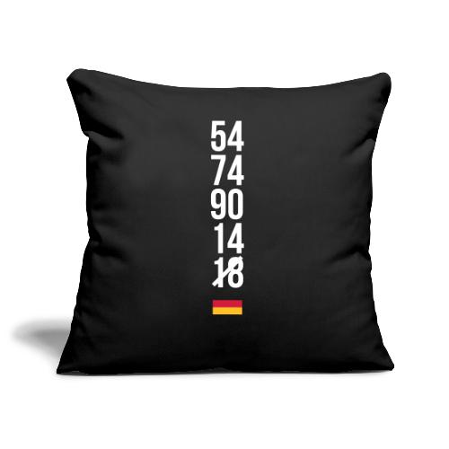 Tyskland ingen world champion 2018 svart rött guld Övrigt - Sofakissenbezug 44 x 44 cm