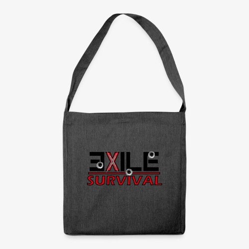 Survivalbag - Schultertasche aus Recycling-Material