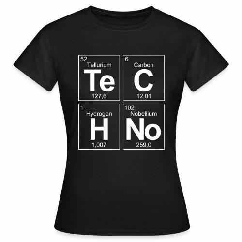 Techno Elemente - T-Shirt - Frauen T-Shirt