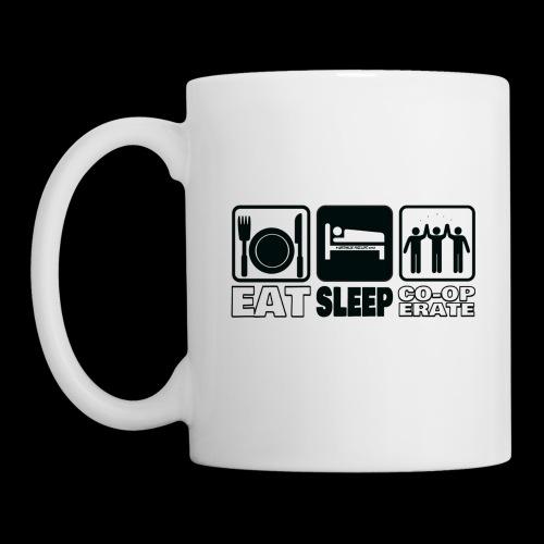 Eat, Sleep, Co-op - Mug