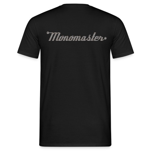 Logo back; Köpfe front; Klassisches T-Shirt - Männer T-Shirt