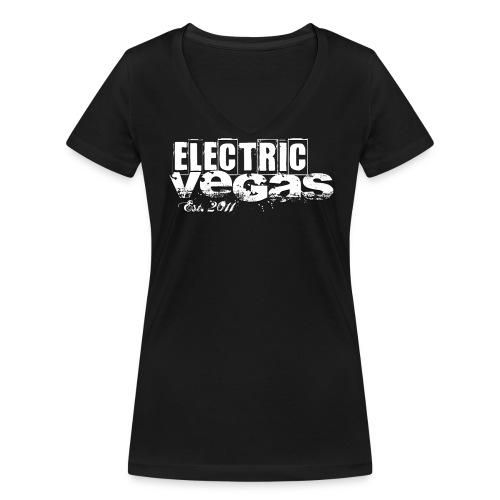 Logo est. 2011 - Frauen Bio-T-Shirt mit V-Ausschnitt von Stanley & Stella
