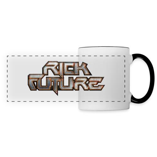 Rick Future Tasse, Logo Classic, zweifarbig - Panoramatasse