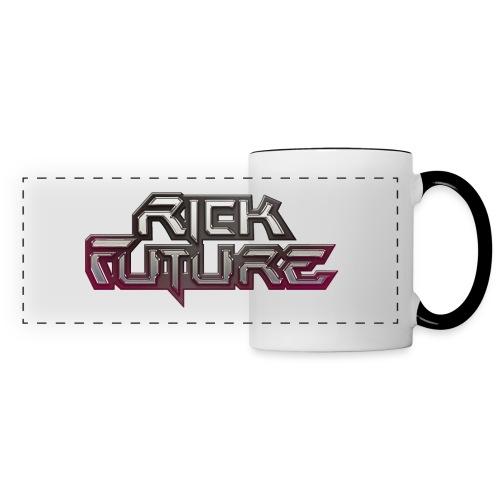 Rick Future Tasse, Logo NEW, zweifarbig - Panoramatasse