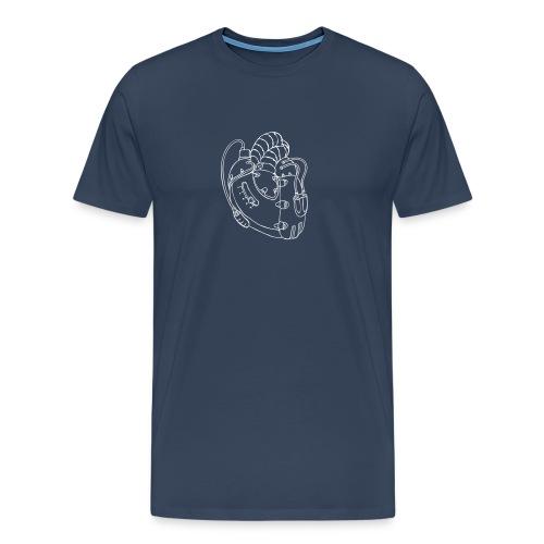 """""""2-Stroke-Heart"""" T-Shirt, Jungs - Männer Premium T-Shirt"""