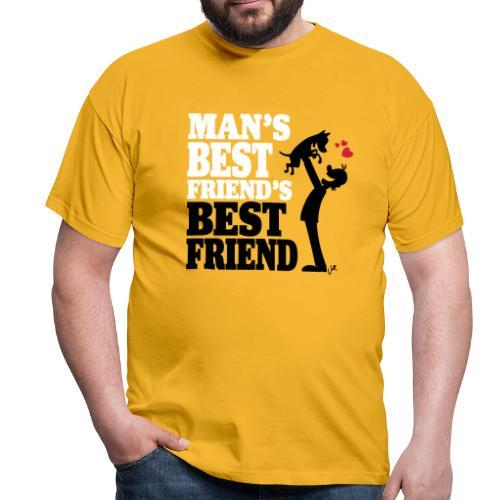 Man's best friend's best friend - Men's T-Shirt