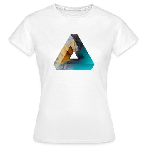 Penrose Dreieck - Frauen T-Shirt