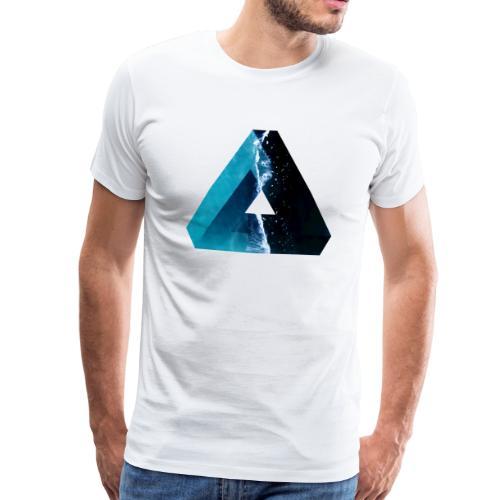 Penrose Dreieck - Männer Premium T-Shirt