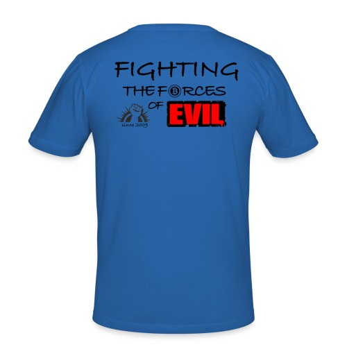 Fighting the forces of evil since 2009 - Bitcoin Shirt - Männer Slim Fit T-Shirt