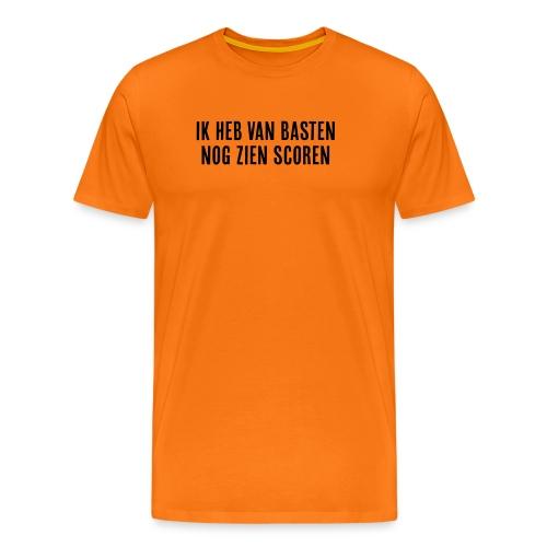 Ik heb van Basten nog zien scoren - Mannen Premium T-shirt