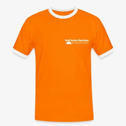 Einfach bunt  Kali Arnis Eskrima  - Männer Kontrast-T-Shirt