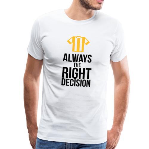 Schiedsrichter - immer die richtige Entscheidung T-Shirts - Männer Premium T-Shirt