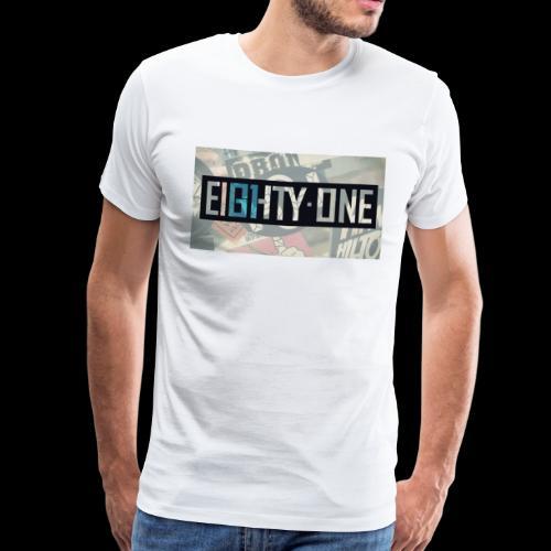 81 Comic Logo - Men's Premium T-Shirt