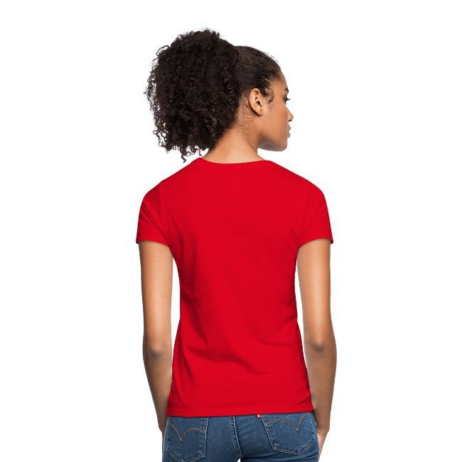 Damen T-Shirt     Fan von zwei Mannschaften