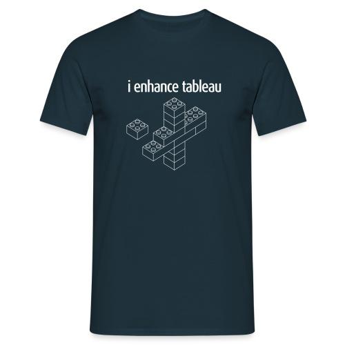 I Enhance Tableau Men - Men's T-Shirt