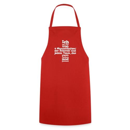 Kochschürze  |  Fan von zwei Mannschaften - Kochschürze
