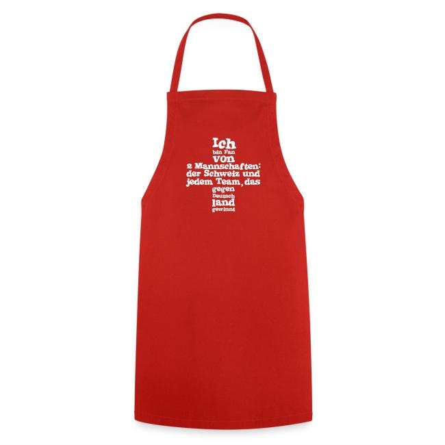 Kochschürze  |  Fan von zwei Mannschaften