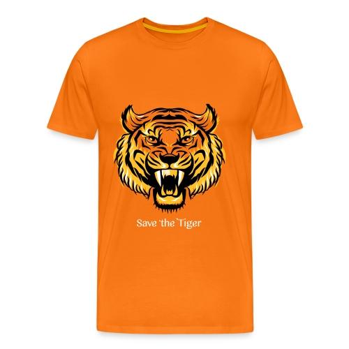 Save the Tiger - Männer Premium T-Shirt
