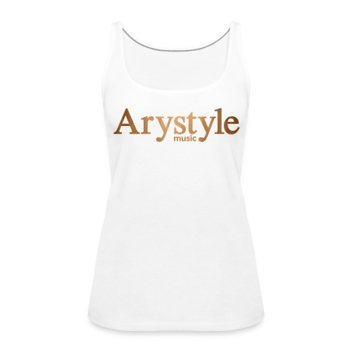 Debardeur Arystyle Original Bois - Débardeur Premium Femme
