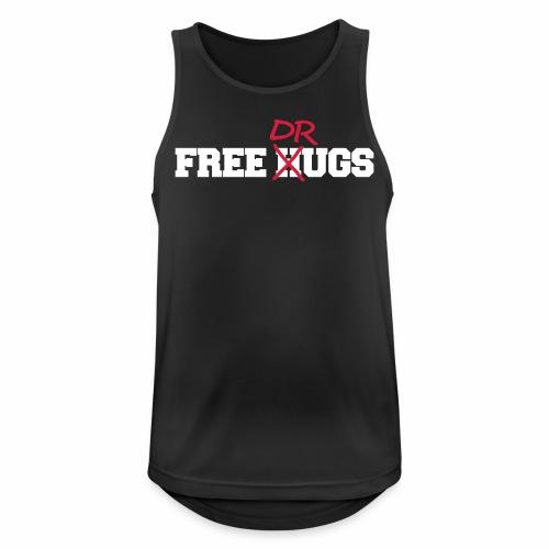 Free Hugs n Drugs - Tanktop - Männer Tank Top atmungsaktiv