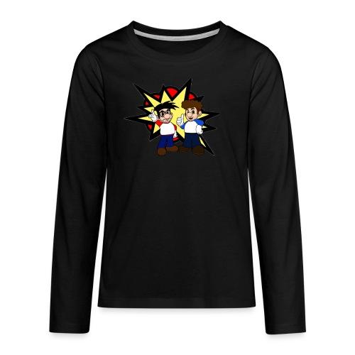 Langarm Teenager Super Swiss Bros Shirt - Teenager Premium Langarmshirt