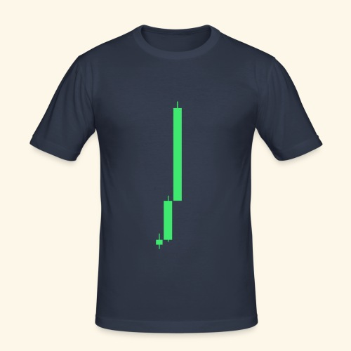 Bitcoin on a rise - slim fit T-shirt