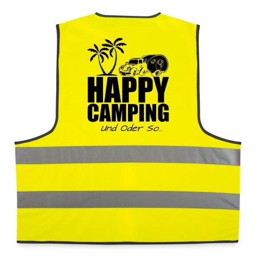 HAPPY CAMPING - die Warnweste - Warnweste