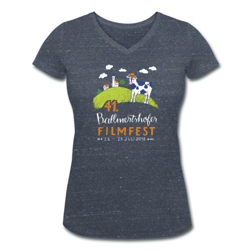 Frauen T-Shirt V-Ausschnitt, 2018 - Frauen Bio-T-Shirt mit V-Ausschnitt von Stanley & Stella