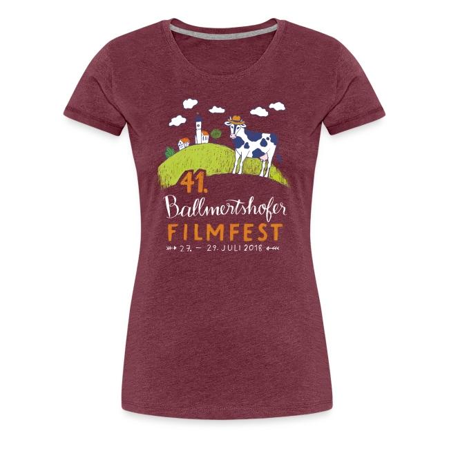 Frauen T-Shirt Rundhals, 2018