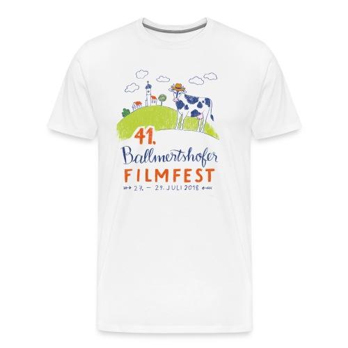Männer T-Shirt Rundhals, 2018 - Männer Premium T-Shirt