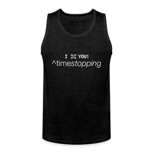 I (photo) you thank top 001 - Men's Premium Tank Top
