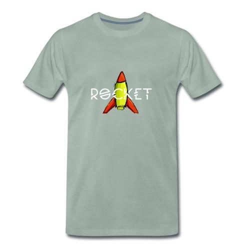 a little Rocket - Männer Premium T-Shirt
