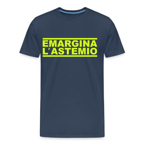 Emargina l'astemio - Maglietta Premium da uomo