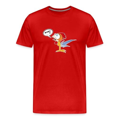 Hahn und Mama - Männer Premium T-Shirt