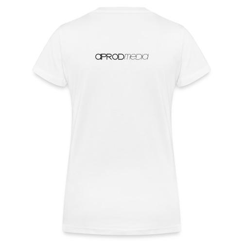 T-SHIRT COL V FEMME BLANC - T-shirt bio col V Stanley & Stella Femme