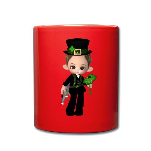 Schornsteinfeger Glück - Tasse einfarbig