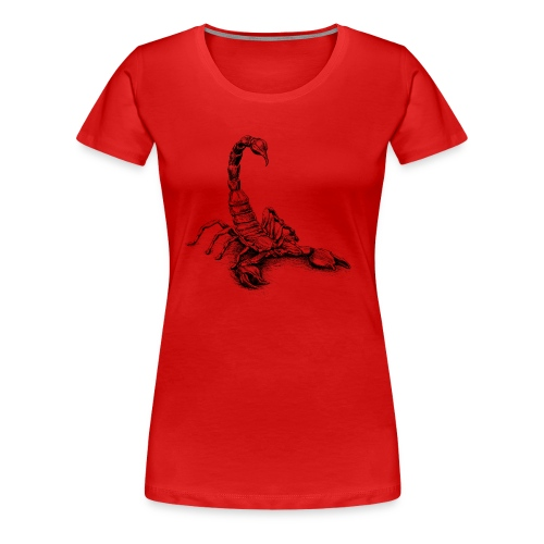 Skorpion - Frauen Premium T-Shirt