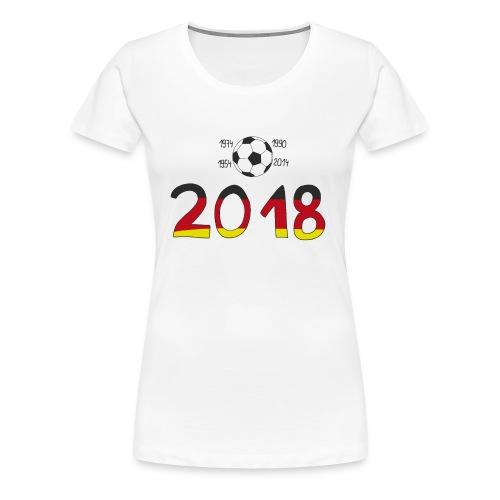 curvy - Fussball - Frauen Premium T-Shirt