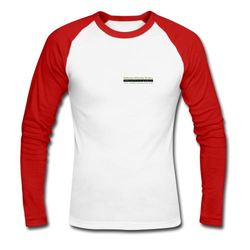 Official ACD Correspondent - Men's Long Sleeve Baseball T-Shirt