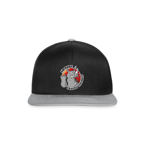 No More Crappy Unicorns - CAP - Snapback Cap