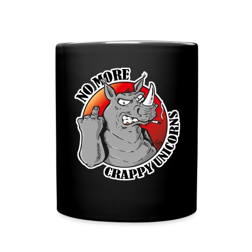 No More Crappy Unicorns - Tasse einfarbig