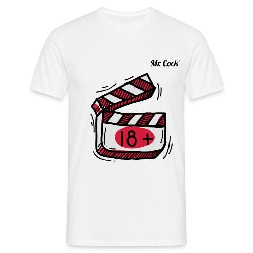 Mr.Cock Männer T-Shirt 18+ - Männer T-Shirt