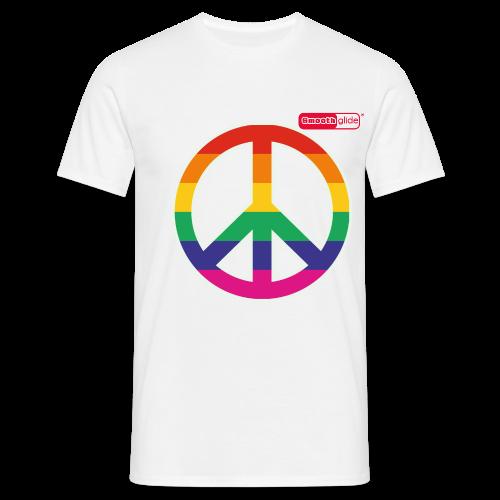 Smoothglide Männer T-Shirt Peace / Pride - Männer T-Shirt